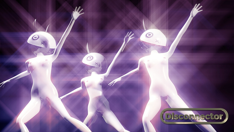 Dancing bunny girls in an animated Disco opera by Faiyaz Jafri