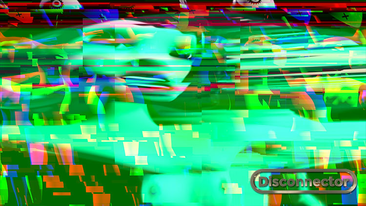Distorted video feed, an animated Disco opera by Faiyaz Jafri