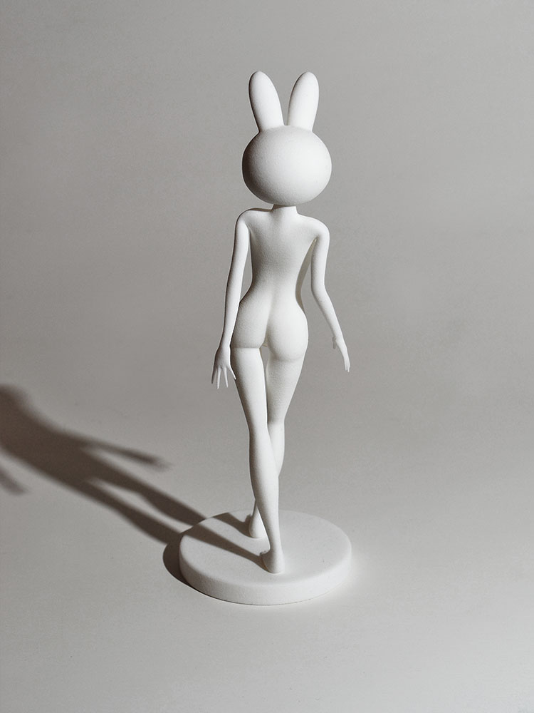 RHSM dancing girl 3D printed sculpture